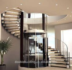 Dream House Interior, Interior Stairs, Dream Home Design, Interior Exterior, Luxury Staircase, Modern Staircase, Staircase Design, Modern Interior Design, Interior Design Living Room
