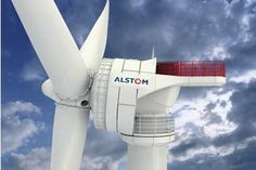 Alstom's 6MW direct drive turbine will be tested off the coast of Belgium.  This is the same turbine, Dominion will test off of the Virginia coast.  Wonder whether the platforms are different.