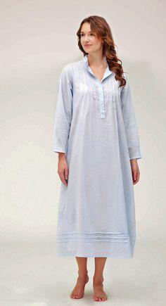 Luxury Long Sleeved Women's Nightdress - : Bonsoir
