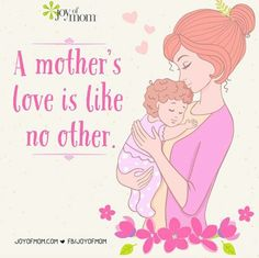 No one can replace a mom ❤