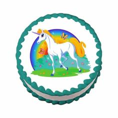 Edible Unicorn Cake Topper