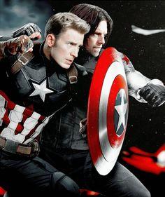Steve Rogers & Bucky Barnes!