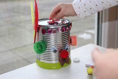 recycler une boite de conserve pour creer un jeu magnetique