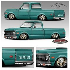 desperado raceline billet wheels on a 63 chevy c10 re pin brought