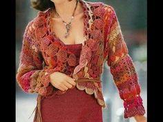 crochet shrug| how to crochet vest shrug free pattern tutorial for begin...