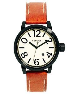 Enlarge Tsovet LX73 Leather Strap Watch