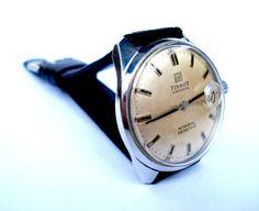 c47cf35d73fe Vintage Reloj Suizo TISSOT Visodate Seastar por shopvintage1 Reloj Suizo