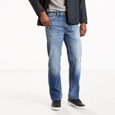 Levi's 505 Regular Fit Stretch Jeans - Men's 33x34