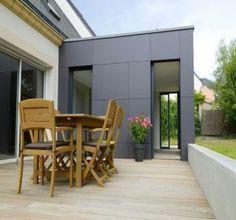 extension agrandissement toit plat