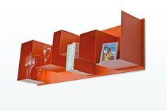 Wandmeubel voor boven bank shelf radius one
