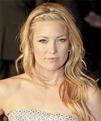 Kate Hudson Long Wavy Casual Hairstyle - Honey Blonde Hair Color perfect when trying to grow out ban Casual Hairstyles, Wedding Hairstyles For Long Hair, Celebrity Hairstyles, Pretty Hairstyles, Hairstyle Ideas, Bob Hairstyles, Kate Hudson, Love Hair, Great Hair