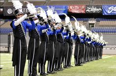 Those sexy Blue Devils trumpet players...
