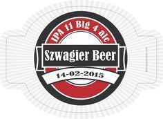 beer label: Red Label Beer