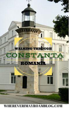 Strolling along the waterfront in historic Constanta, Romania. City Breaks Europe, European City Breaks, Constanta Romania, Bucharest Romania, Mall Of America, North America, Transylvania Romania, Visit Romania, Romania Travel