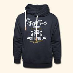 TANTE GEBURTSTAG | TANTE COOL FIT STILVOLL JAHRGANG 1972 - Schalkragen Hoodie Pullover, Hoodie, Cool Stuff, Unisex, Fitness, Sweaters, Fashion, Aunts, Women's T Shirts