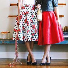 Pleated Midi Skirts ❤️