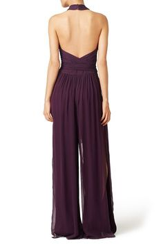 Rent Purple Robbins Jumpsuit by Rachel Zoe for $100 only at Rent the Runway.