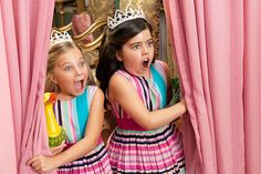 """YouTube sensations and correspondents for """"The Ellen DeGeneres Show"""" Sophia Grace & Rosie have a regal adventure in their first movie."""
