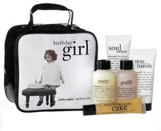 the birthday girl | gift set | philosophy***Size: 5 pc..A collection of bath and skincare products to make the birthday girl feel extra special.,.