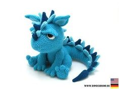 Spikey crochet pattern