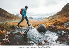 Find Man Solo Traveling Backpacker Hiking Scandinavian stock images in HD and millions of other royalty-free stock photos, illustrations and vectors in the Shutterstock collection. New Zealand Cities, Last Minute Travel, Walking In Nature, Solo Travel, Travel Usa, Countries Of The World, Amazing Nature, Travel Pictures, Royalty Free Images