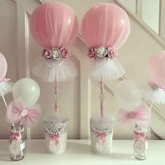 Baby Shower Centerpieces – Standout With Creative Baby Shower Decorations Deco Baby Shower, Girl Shower, Shower Party, Baby Shower Parties, Baby Shower Themes, Baby Shower Decorations, Baby Shower Gifts, Shower Ideas, Ideas Baby Showers
