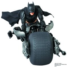 MAFEX The Dark Knight Rises 2.0 Action Figure Batpod 003