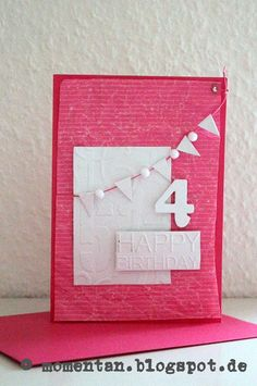 Card by Miriam Knapp — made with cardstock white | aufdeineweise.de