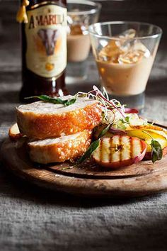 Amarula, Apple and Chilli Glazed Pork Belly – Succulent Pork belly crisped to perfection with flavours of apple, chilli and Amarula. Go to www.amarula.com/entertain#amarula-recipes for the recipe.