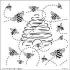 TCW - Template - 6x6 - Mini Busy Bees
