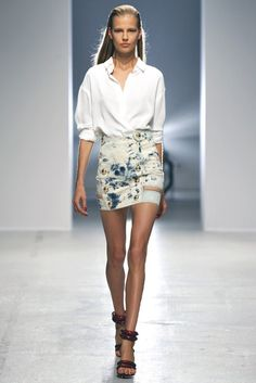 Anthony Vaccarello RTW Spring 2014 [Photo by Dominique Maître]