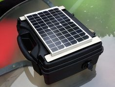 Build your own solar generator to really go off grid Jesse Ventura-Style! You can build a 17 amp generator for about $150. That's enough power to charge multiple electronic devices and power tools in case you have to build an impromptu cabin.