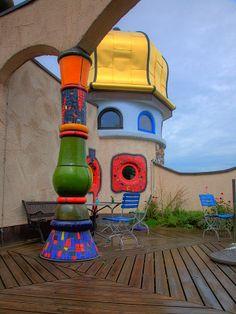 Hundertwasser Architecture Project Markthalle Altenrhein Switzerland