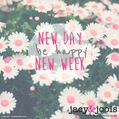Loving the sunshine, looking forward to a great week!   www.jacyandjools.co.uk  #Monday #week #newday #sunshine #sunny #happy #jewellery #jacyandjools #Cheshire #Trafford #Manchester #daisies #pink