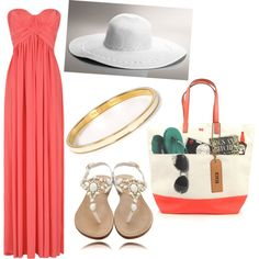 """beachy keen"" by peter376 on Polyvore  i. want. that. dress. right. now!"