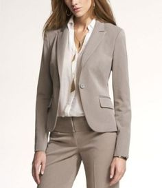 women's taupe suit - Google Search