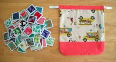 https://flic.kr/p/byQvqR | Memory Game with Drawstring Bag | blogged here