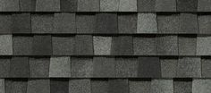 LANDMARK-color is Thunderstorm Gray-Landmark™ - Designer - Residential - Roofing - CertainTeed Good! Black Exterior, Exterior Paint, Shingle Colors, Residential Roofing, Roofing Companies, Stair Railing, Railings, Asphalt Shingles, Roof Colors