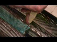 Knitting socks on a standard gauge knitting machine (Part 2 of 3) by Diana Sullivan