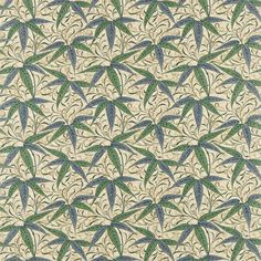 The Original Morris & Co - Arts and crafts, fabrics and wallpaper designs by William Morris & Company | Products | British/UK Fabrics and Wallpapers | Bamboo (DARP222526) | Morris Archive Prints II
