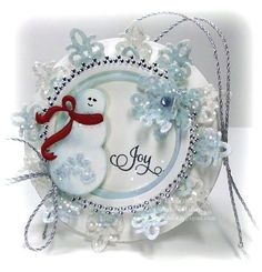 9-29-12 Snowman wwm -- she has the most beautiful cards etc on her blog.  A must see!!