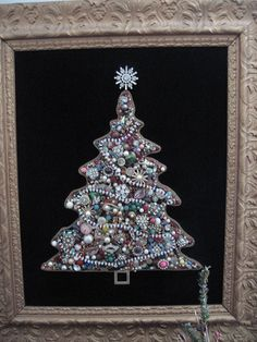 DIY: Tutorial on how to make this gorgeous tree from vintage ...