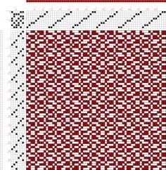 draft image: FigureB 1091, A Handbook of Weaves by G. H. Oelsner, 8S, 6T