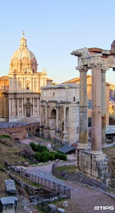 Roman Forum, Rome    by http://www.etips.com