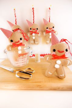 Christmas Gingerbread Man Ornament by Sugar Elf -Love, love, love them!