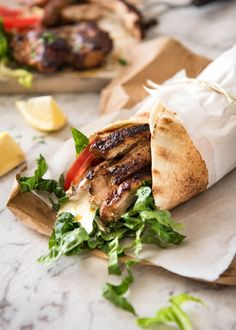 The flavour of this Chicken Shawarma marinade is absolutely incredible, yet made with just a handful of everyday spices. www.recipetineats.com