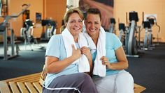 Picture of Two happy women talking after their fitness training in gym stock photo, images and stock photography. Growth Hormone, Gal Pal, Happy Women, Get Healthy, Diva, Healthy Living, Health Fitness, Gym, Pure Products