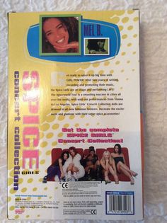 Spice girls dolls concert collection X 5 boxed dolls Spice Girls Dolls, 5 Box, Spice Things Up, Girl Power, Spices, Writing, Concert, Ebay, Collection