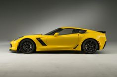 The 2015 Chevrolet Corvette is the latest and most powerful Corvette yet. Learn everything you need to know about the 2015 Corvette right here in this Motor Trend First Look. Chevrolet Corvette Stingray, 2015 Corvette Z06, Old Corvette, Yellow Corvette, Ferrari F12 Tdf, Cars Usa, Latest Cars, Hot Cars, Dream Cars