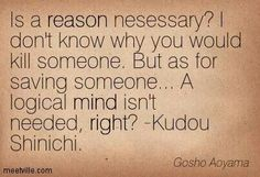Kudou Shinichi quote
